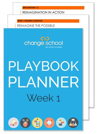 Change School Planner week 1